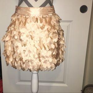 Kardashian Kollection leafy skirt size Small